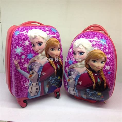 game design your frozen bag frozen suitcase children travel trolley bag frozen 16 inch