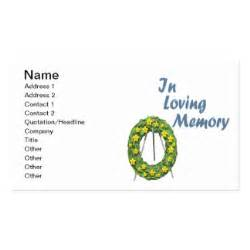 in loving memory business cards 377 business card templates