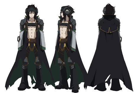 anime characters rokka no yuusha anime character designs revealed otaku tale