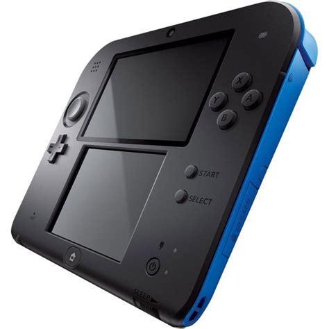 2ds console nintendo 2ds console black blue nintendo official uk