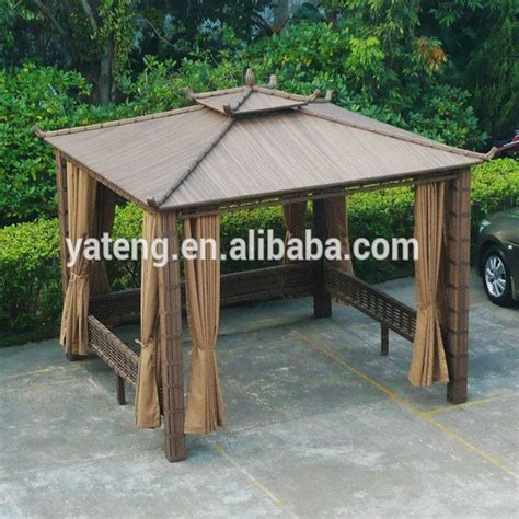 all weather gazebo all weather rattan outdoor furniture garden gazebo tent