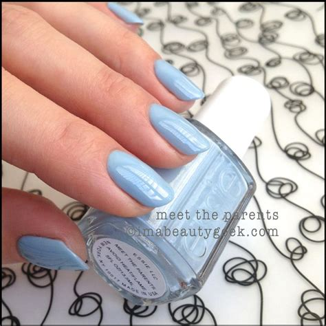 essie light blue nail best 25 light blue nail ideas on