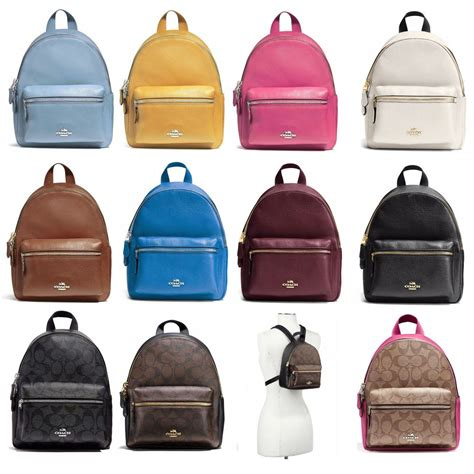 Coach Signature Mini Backpack 100 Original new coach f38263 f58315 mini backpack new with