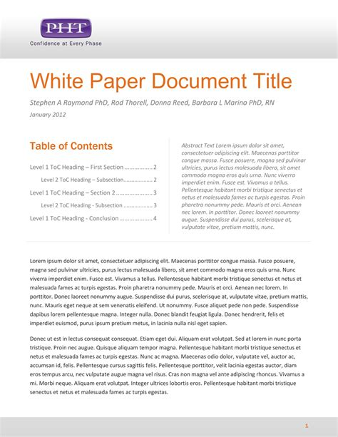 white paper outline template related post professional white paper related post
