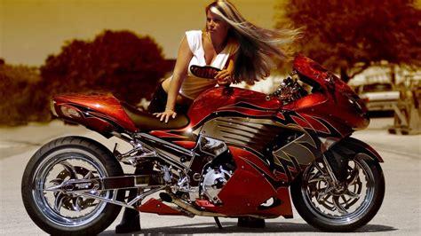 Motorrad Bilder Mit Frauen by Cool Bikes Wallpaper Ii