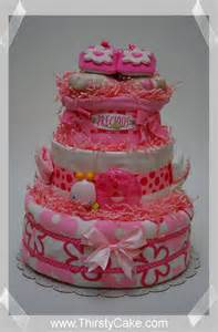 248 787 3010 l quot pretty in pink quot diaper cake i baby shower diaper cakes i unique baby gifts i new