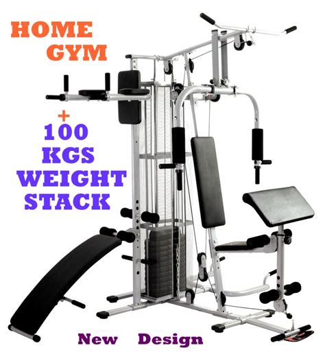 multi station home dumbbell bench fitness equipment ebay