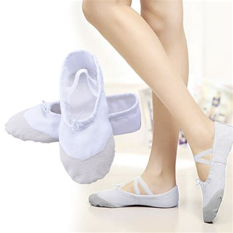 child ballet slippers child canvas ballet shoes slippers pointe