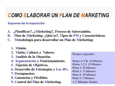 Que Es Un Layout En Marketing | plan de marketing 2