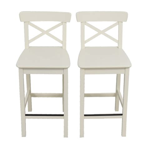 Ikea Bar Stool by 63 Ikea Ikea White Bar Stools Chairs