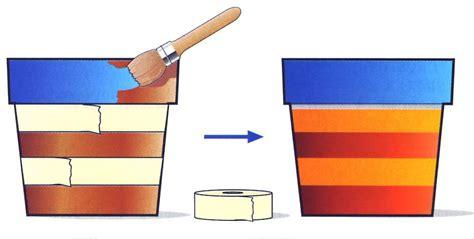 vasi di terracotta colorati fai da te nuova vita ai vecchi vasi di terracotta cose