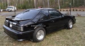 1988 Ford Mustang 5 0 1988 Ford Mustang Gt 5 0 V8 Hatchback 2 Door