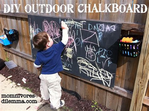 diy outdoor chalk paint diy outdoor chalkboard tutorial momnivore s dilemma