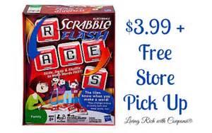 scrabble flash coupon deals scrabble flash 3 99 living rich with