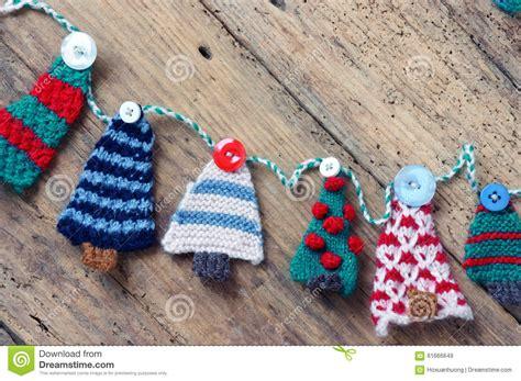 Handmade Knitting - handmade ornament knitted pine tree