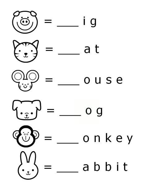 Sounds letter worksheets for early learners literacy preschool