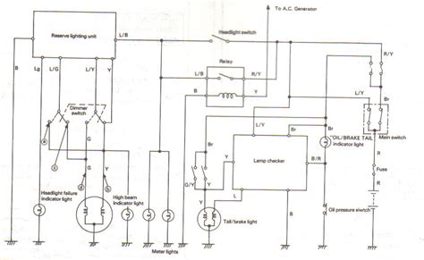 yamaha xs750 wiring diagram yamaha free engine image for