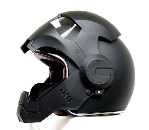 Motorradhelm Harley by Masei Matt Black Atomic 610 Open Motorcycle