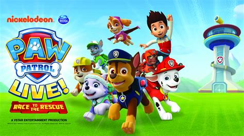large paw patrol boat paw patrol live race to the rescue au rene theater at