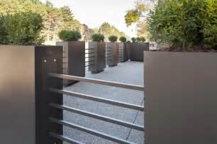 restaurant patio planters metal tubing fence
