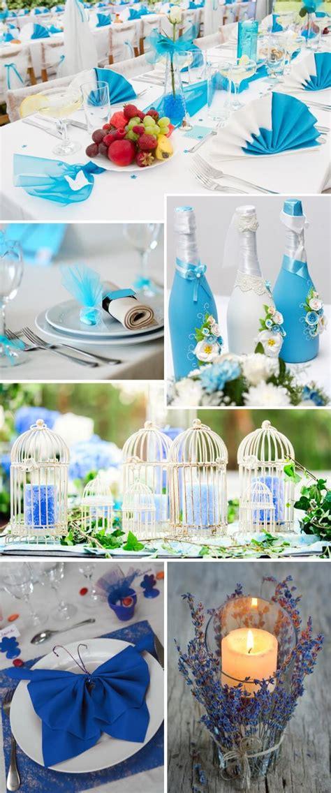 Deko Hochzeit Blau by Tischdeko In T 252 Rkis Blau Viele Beispielbilder