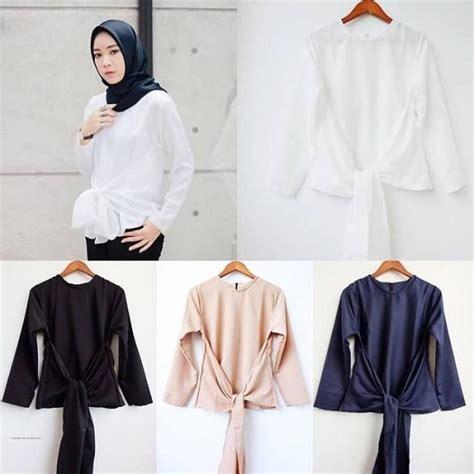 Baju Atasan Tali Kepang grosir busana muslim tali grosir baju muslim pakaian wanita dan busana murah
