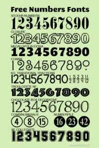Free numbers fonts lisa moorefield com