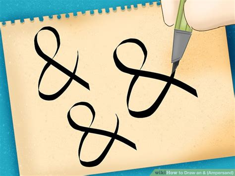 how to do doodle for how to draw an ersand 6 steps with pictures