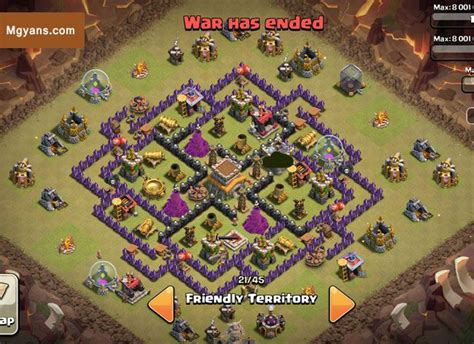 layout coc th8 4 mortar top 3 th8 4 mortar war base designs december 2014 coc