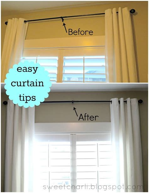 how to hang curtains simple tips for a bigger and 21 best curtain ideas images on pinterest home ideas my