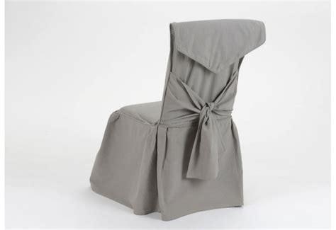 housse de chaise grise amadeus amadeus 13880