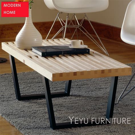 us leisure home design products minimalist modern design solid wooden bench modern home