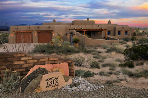 classic pueblo style new mexico custom home built for an