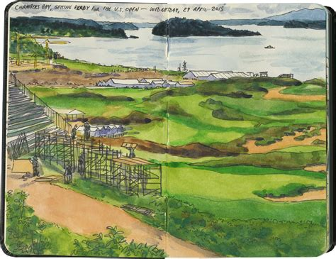 chambers bay layout for us open hole in one drawn the road again