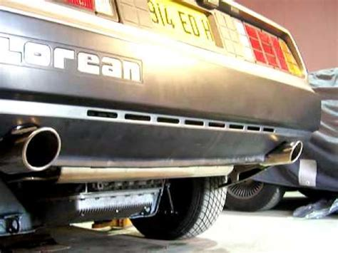 delorean owners club delorean owners club uk ss exhaust system