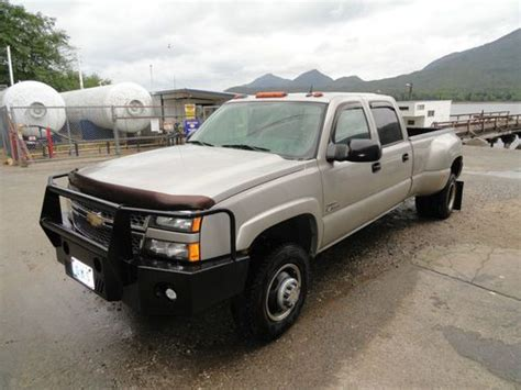 used chevy truck beds buy used 05 chevy silverado lt 1ton dually pickup truck