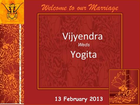 indian wedding templates for powerpoint free download wedding invitation vijyendra yogita 13 feb 2013