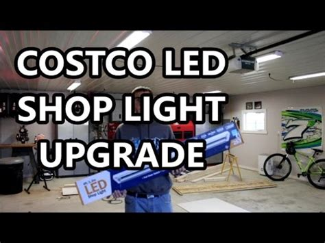 led garage lights costco upgraded to costco led shop lights in my garage