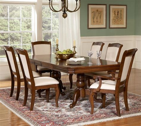 Cherry Wood Dining Room Furniture Trend With Images Of Hardwood Dining Room Furniture