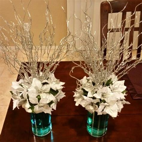 snowflake table top decorations best 25 snowflake centerpieces ideas on