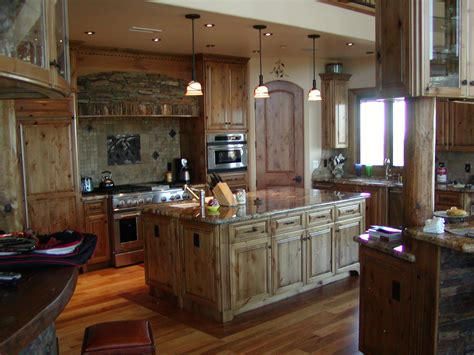 Alder Wood Kitchen Cabinets Pictures by Excellent Custom Made Rustic Alder Cabinets For Large