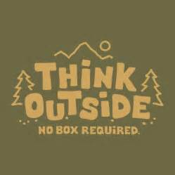 think outside no box required s