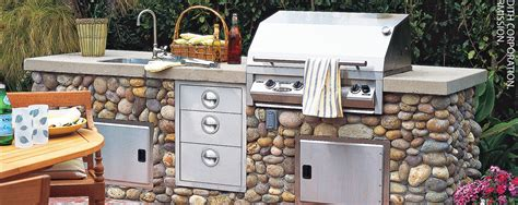 how to design an outdoor kitchen how to design a stylish outdoor kitchen better homes and