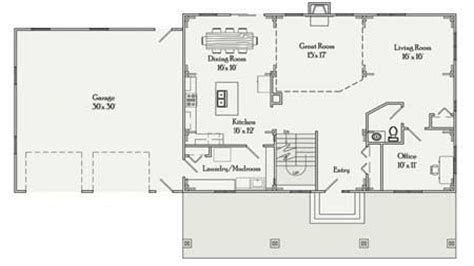 Rectangular House Plans by Rectangular House Plans 3 Bedroom 2 Bath Simple