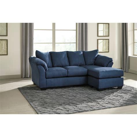 signature design by ashley darcy sofa chaise signature design by ashley darcy blue contemporary sofa