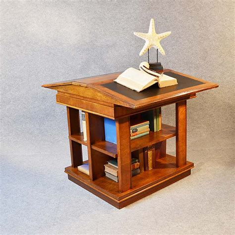 writing desk with shelves bookcase writing desk double library reading