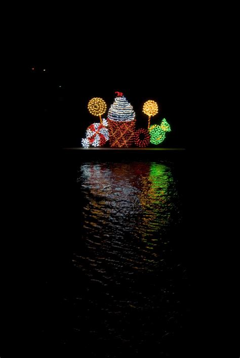 holiday lights on the river christmas on the river a community labor of love and