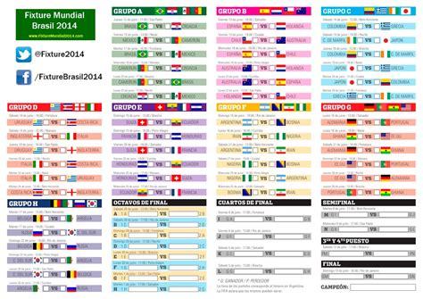 Calendario Eliminatorias Al Mundial 2018 Fixture Mundial 2014 Sedes Y Grupos