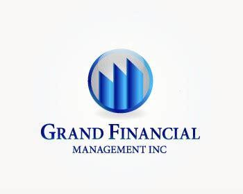 design management inc grand financial management inc logo design contest logos