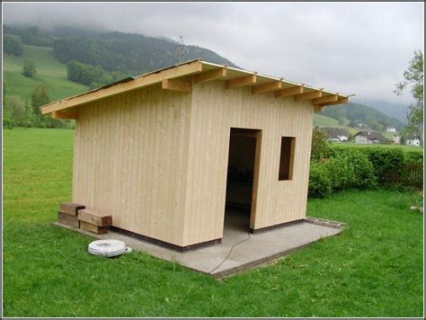 Was Aus Holz Bauen by Gartenhaus Selber Bauen Bauanleitung
